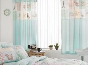 【Asa room】韩国窗帘代购进口 卡通儿童客厅卧室半遮光 k404-m,窗帘,