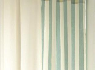 〓持家太太〓韩国家居*韩国绿色竖条窗帘RS0013,窗帘,