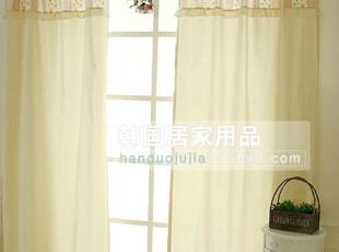 【Asa room】韩国窗帘进口 小碎花可定做半遮光成品卧室窗帘 k095,窗帘,