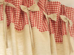 亲近自然 棉麻质地 美式乡村 窗帘 Olivia系列,窗帘,