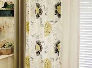 韩国家居*高档大气窗帘MH0133(特价),窗帘,