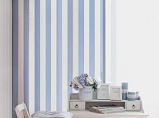 韩国时尚海军风情客厅窗帘地中海清凉海风卧室窗帘 门帘,窗帘,