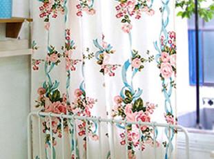 『韩国网站代购』英格兰玫瑰浪漫装饰窗帘|定做款,窗帘,