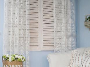 『韩国网站代购』安静的美好 优雅且浪漫白玫瑰蕾丝窗帘|定做款,窗帘,