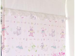韩国进口家居*儿童房装饰韩国窗帘RS00107,窗帘,