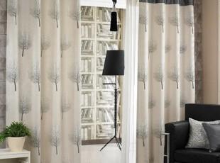 【Asa room】韩国窗帘代购进口 田园高档卧室客厅成品长款 k397,窗帘,