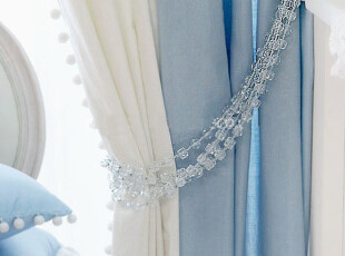 〓持家太太〓韩国家居*韩国窗帘扣/水晶链MH90075,窗帘,