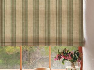 gafuhome雅风窗帘 美式现代简约 百搭大条纹 卧室客厅 宽幅,窗帘,
