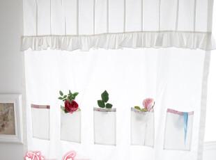 点格格  日韩式厨房收纳半帘/学生寝室半帘/门帘/可定做,窗帘,