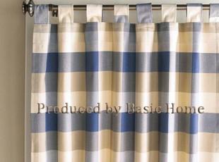 新品-外贸出口千鸟格成品窗帘 单片尺寸 单片价格,窗帘,
