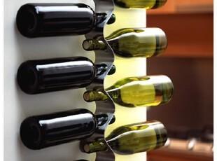 『韩国进口家居』mc-0417 精致波浪形金属红酒搁置架/置酒架,红酒专用,
