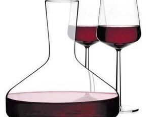 芬兰Iittala 醒酒器+红酒杯一对 限量一套 品酒好礼 原价1180,红酒专用,