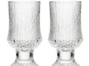 Iittala 极冻-高脚杯(2只装)红酒杯 无铅水晶玻璃,红酒专用,