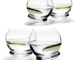 丹麦Normann 不倒翁玻璃杯/水杯/红酒杯/酒杯 120800(原价300),红酒专用,