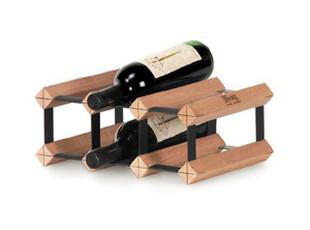 Bordex红酒架DIY创意实木 胡桃木红酒架 欧式法国葡萄酒架红酒托,红酒专用,