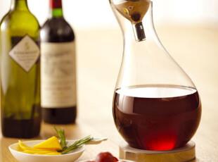 台湾 JIA Inc 醒酒器 透明色玻璃,红酒专用,