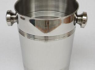 优质304不锈钢冰桶 冰粒桶 饮料桶 香槟桶 高桶车线4升 磨砂,红酒专用,