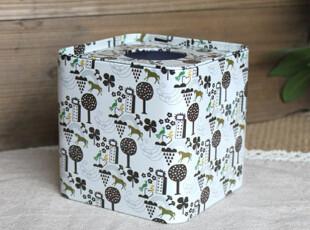 创意家居 铁质绚烂花朵方形纸巾盒 纸巾筒 纸巾抽 乔迁礼物,纸巾盒,