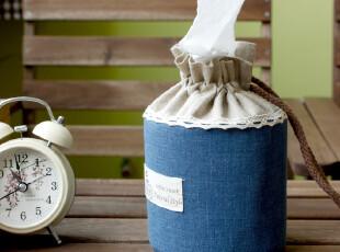 【老屋家居】日式棉麻布艺ZAKKA卷纸盒卷纸筒纸巾套韩国纸巾盒,纸巾盒,