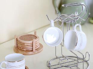 欧润哲 不锈钢水杯架子 沥水架酒杯架悬挂杯架杯子架创意茶杯架子,置物架,