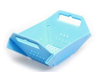 欧式 创意果篮 时尚塑料水果篮 多功能可折叠果篮 折叠沥水篮,置物架,