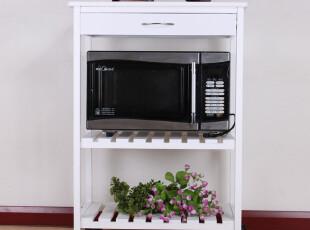 特价 加强单排餐车 微波炉架 餐车 电器层架 厨房置物架,置物架,