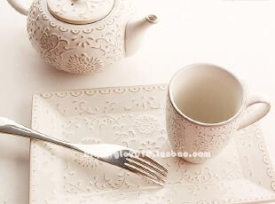 瑕疵 拍前联系掌柜出口陶瓷餐具下午茶