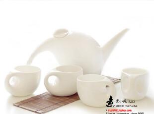 欧式设计优质骨瓷 陶瓷纯白骨瓷茶具 宜家/MUJI简约风格 只为初见,茶具,