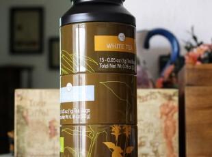 田园铁皮盒子铁盒马口铁储物罐 密封茶叶罐 铁皮罐 分四层 29880,茶具,