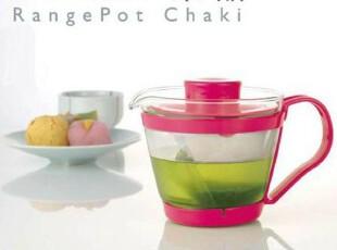日本怡万家IWAKI 耐热玻璃茶壶 微波时尚茶壶 滤水把手茶壶400ml,茶具,
