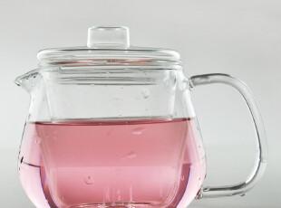 花茶茶具 透明玻璃过滤式茶壶 茶具套装 花茶 果茶 400ml  晶净,茶具,