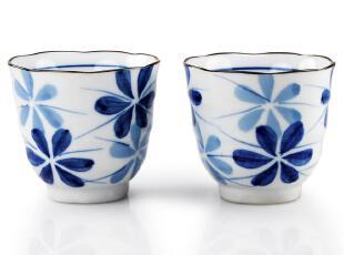清仓特价出口日本 和风手工绘陶瓷泡茶具品茗功夫茶杯 榮樂窯MoTa,茶具,