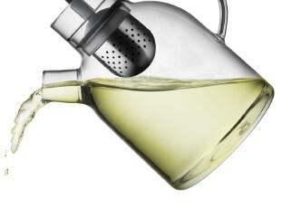 丹麦MENU原装进口 东西方设计理念融合 高档多重感官透明玻璃茶壶,茶具,