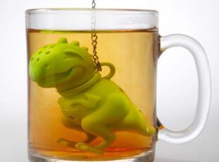 美国代购Tea Rex 小恐龙泡茶专用 泡茶器/茶包 国内现货,茶具,