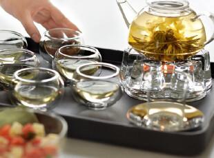 teatime整套茶具 罗汉套餐四 全配置功夫茶具茶巾茶座茶盘送茶碟,茶具,