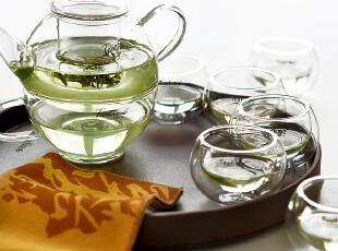 teatime整套茶具 经典罗汉套餐三 含茶壶茶碗茶杯及茶盘 赠送茶巾,茶具,