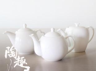 白瓷茶壶/咖啡壶   不挑款 随机发        出口日本外贸陶瓷,茶具,
