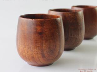 皇冠特价 天然环保 木杯 创意可爱木杯子 实木茶杯 中号功夫水杯,茶具,