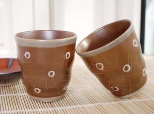 出口瓷器 日本和风 日式 手工 哑光 陶瓷茶杯 水杯 汤吞杯,茶具,