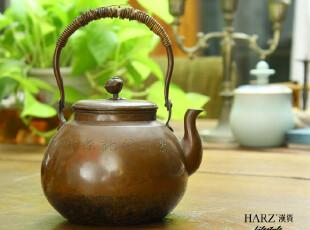 【日本老铜壶】日本老铜壶 精致 造型优美 工艺独具匠心 有益健康,茶具,