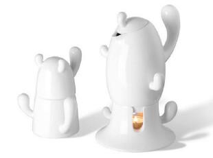 丹麦PO: Cactus Teapot Set 仙人掌茶壶+茶杯套装 四件套 618,茶具,