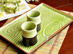 陶瓷茶盘 (12.5寸树纹)创意大茶盘 果盘 摆盘 超实用款,茶具,