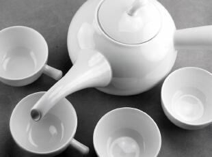出口原单 奢华创意家居 陶瓷/骨瓷质茶具 茶杯茶壶五件套装 天工,茶具,
