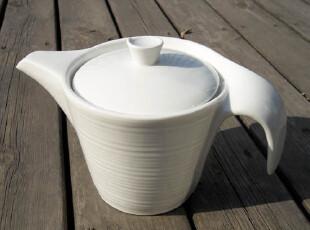 宜家风格 简约层次感 陶瓷咖啡壶 冷热水壶 英式茶壶 650ml,茶具,