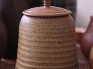 【布果】原创设计 手工拉坯 素雅 原色 古色 陶瓷 茶叶罐,茶具,