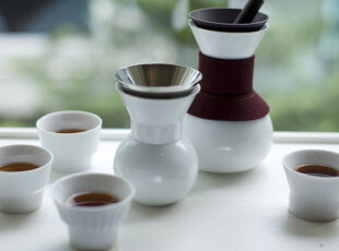 台湾 JIA Inc 官帽系列 茶具6件套 中国清朝官员的官帽,茶具,