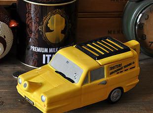 黄色 三轮出租车 陶瓷 茶壶,茶具,