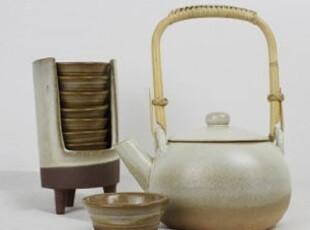 创意陶艺普洱养生茶具套装手工陶瓷复古工艺茶具茶杯茶壶礼品摆设,茶具,