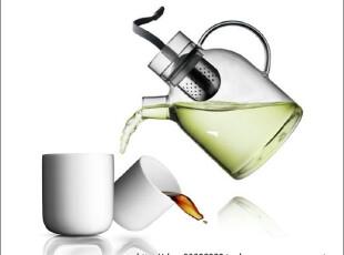 丹麦Menu东西合璧玻璃茶壶4545129 +隔热杯限量套装4546129特惠,茶具,