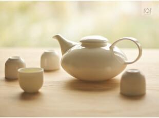 骨瓷茶具套装 瓷云茶器组 整套一壶配四杯,茶具,